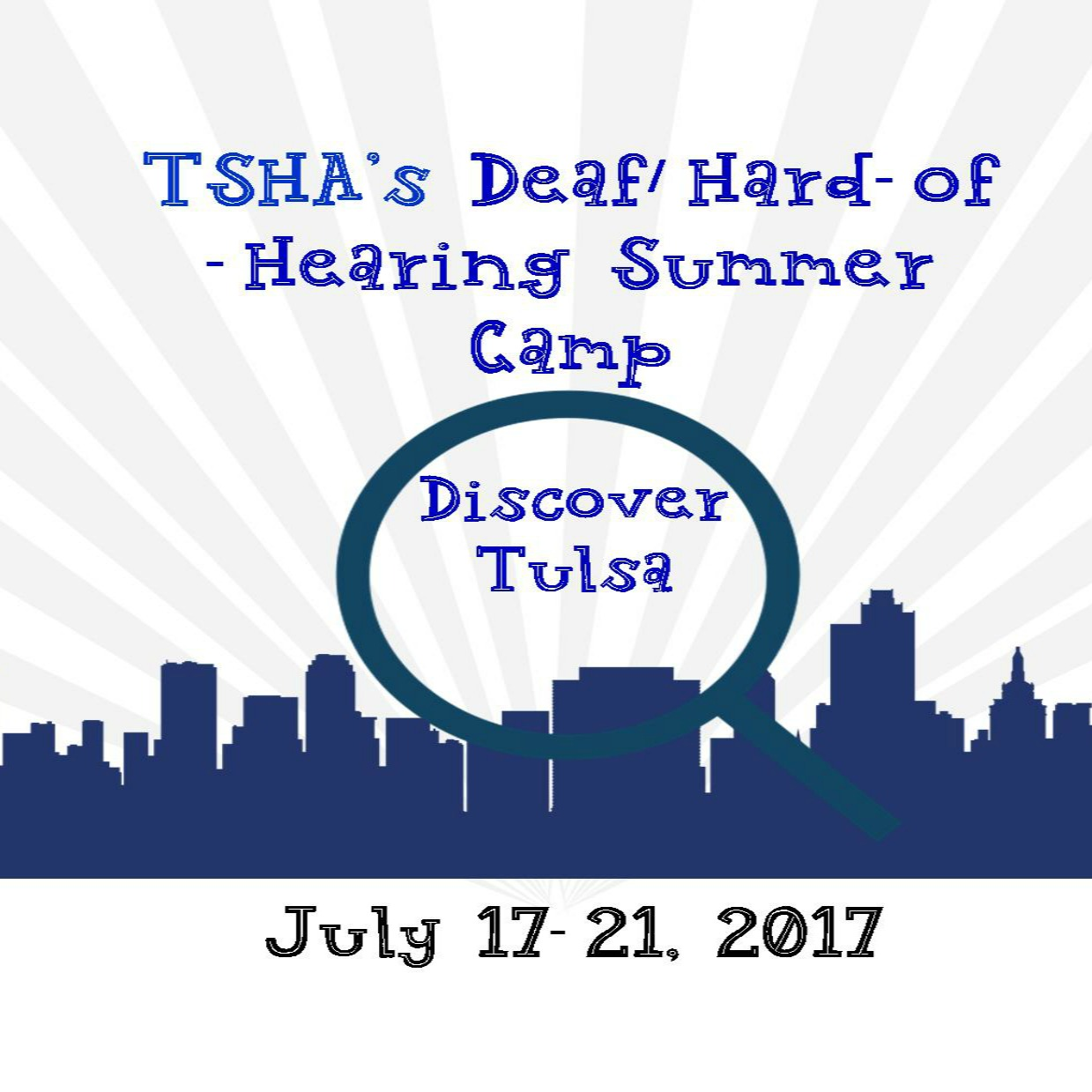 TSHA's Deaf/Hard-of-Hearing Summer Camp