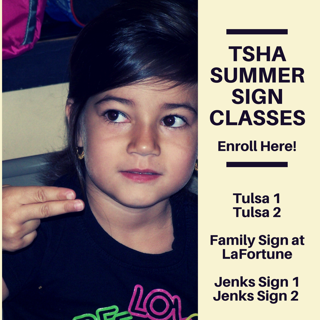 Summer Sign Classes are here!