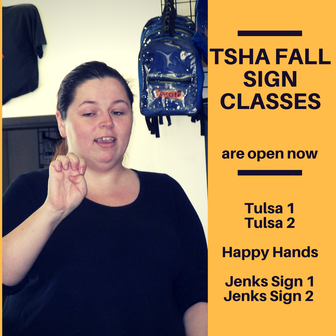 Fall Sign Classes Are Here!